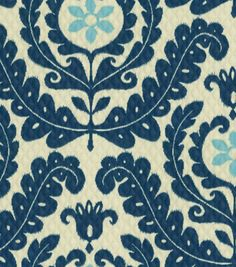 Home Decor Print Fabric-Waverly  Meridian Pool