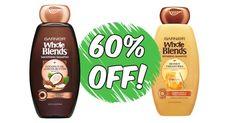 Garnier Whole Blends Hair Products 60% Off At Walmart!