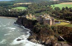 Culzean Castle on the Scottish Coast