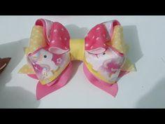 Diy Hair Bows, Diy Bow, Ribbon Crafts, Ribbon Bows, Cute Crafts, Crafts To Make, Hair Bow Tutorial, Diy Hair Accessories, Girls Bows