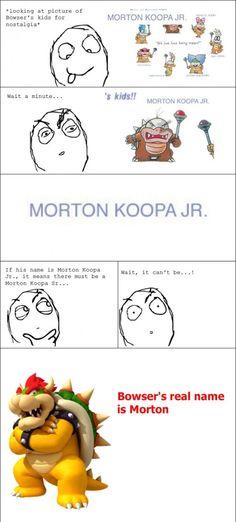 Mario Bros humor