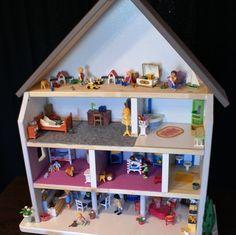notre maison de playmobil jeux d 39 enfants pinterest playmobil. Black Bedroom Furniture Sets. Home Design Ideas