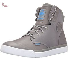 Palladium Homme Bottes Pallarue Salut Cuff WP, Gris, 41 - Chaussures  palladium (*