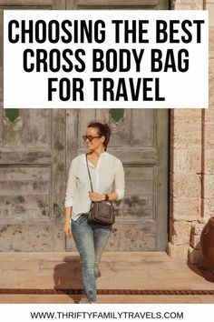 Best Sling Bag for Travel Compare features of the best travel crossbody bag options so you can find the best travel sling bag perfect for you. Road Trip Packing, Packing List For Travel, Luggage Packing, Packing Hacks, Traveling Tips, Packing Lists, Travel Luggage, Travelling, Travel With Kids