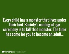 Is the mosnter REALLY a monster though? - Kristin
