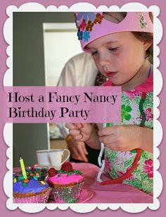 fancy nancy birthday tea party love the decorate your own crown and cupcakes and make a butterfly craft