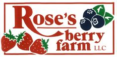 Rose's berry farm. Strawberries in mid-late June, Blueberries start in July!