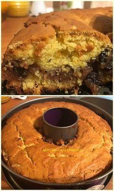Greek Desserts, Greek Recipes, Healthy Diet Recipes, Cooking Recipes, Greek Cake, Light Cakes, Apple Cake, Cake Cookies, Cake Recipes