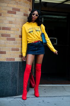 It's Baaack: 'Tis The Season For Street Style+#refinery29