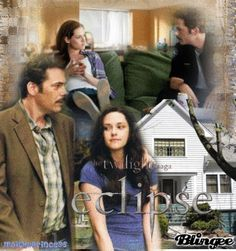 **Charlie and Bella Swan**Eclipse family life-----------original blingee by MoiThePrincess c Copyright c