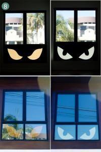DIY Halloween : DIY halloween Decor ---- Window peepers