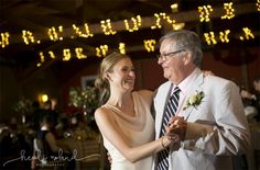 Willow Creek Winery, Modern Vineyard wedding reception Cape May NJ, father daughter dance