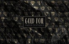 Medialoot - Gold Foil Wrapping Paper Textures