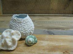 Joli pot oursin  bleu poudré 5 / Delicate by StellartCreations