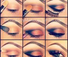Tutorial per make up occhi ♥