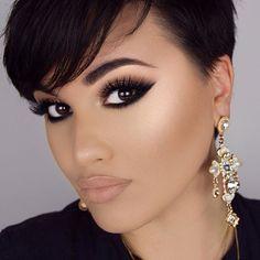 50 Elegant Eye Makeup Ideas To Get An Excellent Look This Year Flawless Makeup Elegant Excellent Eye Ideas Makeup Year Kiss Makeup, Cute Makeup, Gorgeous Makeup, Pretty Makeup, Makeup Looks, Hair Makeup, Makeup Eyebrows, Makeup Tips, Beauty Makeup