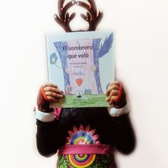 El sombrero que voló - ¡Ilústralo tú! | 978-84-948678-9-7 - Pintar-Pintar Editorial 15,00€ Editorial, Reusable Tote Bags, Sombreros, Illustrations