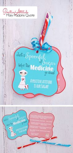 My favorite Mary Poppins Quote! Printable & lesson idea for encouraging a positive attitude. Perfect for Girls Camp or Family Night! Birthday Presents For Girls, Gifts For Girls, Birthday Gifts, Birthday Sayings, 70th Birthday, Birthday Images, Birthday Greetings, Birthday Wishes, Happy Birthday