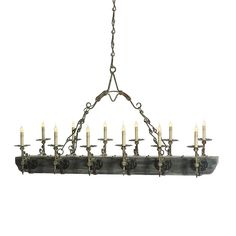Trestle Chandelier 12 L by Ella Home Available at Mayer Lighting Showroom www.mayerlighting.com