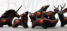 Blood Moon Beasts by hontor https://www.etsy.com/ru/shop/DemiurgusDreams?ref=seller-platform-mcnav&search_query=blood+moon