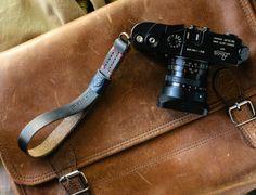 handmade leather camera straps - Google Search