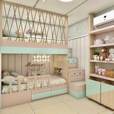 Bed For Girls Room, Cool Kids Bedrooms, Big Girl Bedrooms, Awesome Bedrooms, Girl Room, Cute Bedroom Decor, Cute Bedroom Ideas, Room Ideas Bedroom, Small Room Bedroom