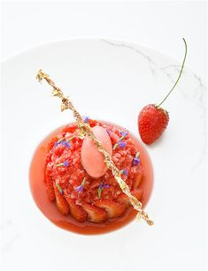 Le Cinq © Richard Haughton - #plating #presentation