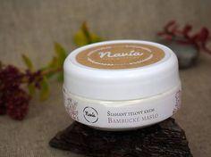 Šľahaný telový krém - Bambucké maslo (bez vône)