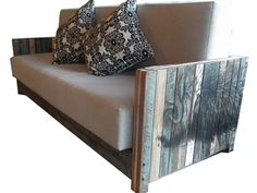 Ox Lounge by Kristen Montgomery - Lounge, Sofa, Reclaimed Timber