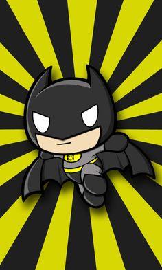 Chibi Batman by jerkysans.deviantart.com on @DeviantArt