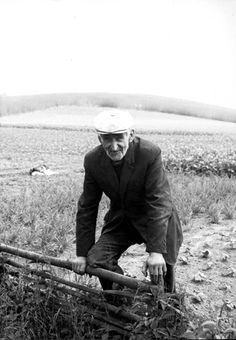 Brusy Dziemiany, Poland, The farmer, Stefan Durajewski. This farmer told about murders in this place. In his farm were burned the bodies of Jews murdered in the sub-camp of Stutthof.