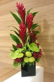 Resultado de imagen para Cover picture arrangement of heliconia flowers