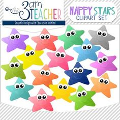 This set includes 16 colorful Happy Star Clip Art images!! (line art not included)All images are in PNG format (translucent background)300 DPI (Perfect resolution for printing and re-sizing)Thank you for your support & stopping by my store!! I appreciate your feedback and hope you keep coming back for more!!Clip Art set includes: 16 colorful happy star imagesTerms of Use:You can use the clip art in educational commercial products.