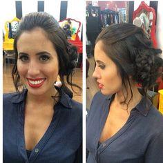 Penteado by @tayllabelarmina #circushair #circuspamplona #hair #prom #penteado #fashion #style