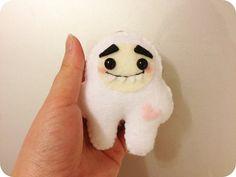 Cute Yeti - Felt Plush Toy