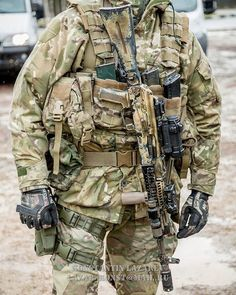 Spetsnaz FSB operator with a custom AK-74M.| Спецназ ФСБ С АК-74М на…
