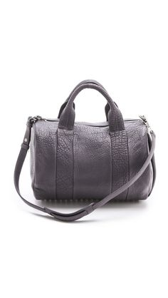 Alexander Wang Rocco Duffle Bag  TUNDRA is the most beautiful Grey!
