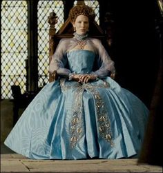 "Costume from the movie ""Elizabeth: The Golden Age"", realised by Shekhar Kapur in 2007"