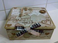 scatola shabby