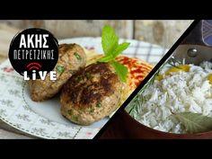 Μπιφτέκια στον Φούρνο με Ρύζι Μπασμάτι | LIVE | Άκης Πετρετζίκης - YouTube