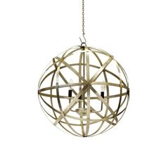Saturn Metal Chandelier