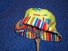 Toddler Baby Bucket Hat Trains by AdorableandCute on Etsy, $20.00