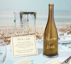 Message In Bottle - Decal
