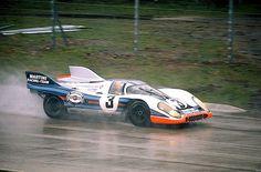 1971 1000Km Monza Porsche 917 K #020 - Porsche 912 F12 2v DOHC Vic Elford (GB)/Gérard Larrousse (F)