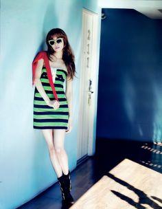 Tiffany Vogue Girl Magazine photoshoot #SNSD
