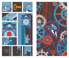 Illustration: Rob Hunter's second book, Map Of Days, is a stunning work of graphic fiction