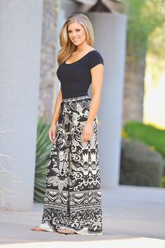 Seize The Day Palazzo Pants - Black from Closet Candy Boutique