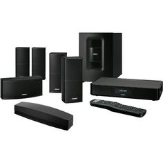 Bose® - SoundTouch 520 Home Theater System - Binge-watching a new series. Catching up on your movie watch list. Streaming the latest music. Your Home is your entertainment center. And so much of it relies on sound. The Bose® SoundTouch® 520 home theater system delivers true surround sound from small, high-performance speakers and the wireless Acoustimass® module, which provides impactful bass even if you hide it behind furniture and out of sight. #bose #soundtouch #home #audio #living #room