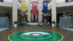 Mall builds real-life Pokémon Go gym to go with its in-game Pokémon Go gymA Pokémon Go gym inside the Colonie Center mall in Albany.  Image: Colonie Center Facebook  By Stan Schroeder2016-08-12 12:26:12 UTC  When the gods of Pokémon Go decide that a certain location is a Pokémon Go gym whoever owns the property can either fight it or embrace it.  The Colonie Center mall in Albany which is a Pokémon Go gym has decided to make the best of it. As seen on Reddit the mall built a real life…
