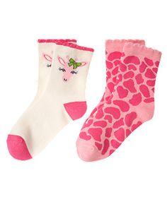 Giraffe Sock Two-Pack